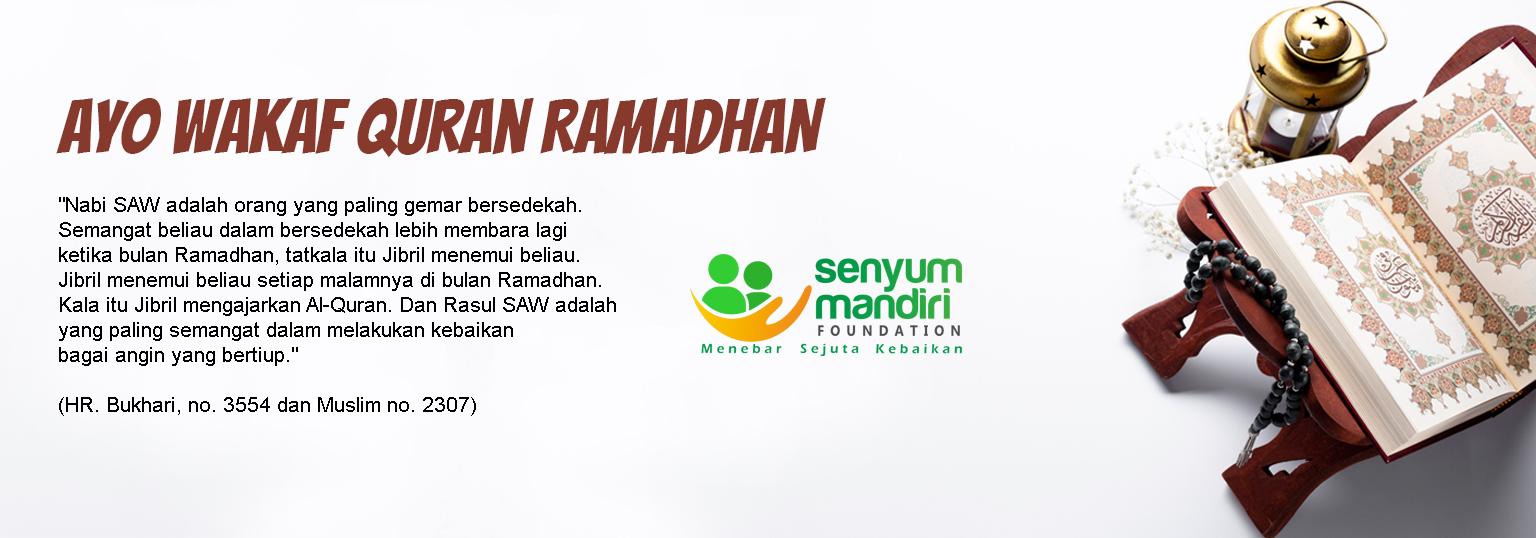 Wakaf Quran Ramadhan